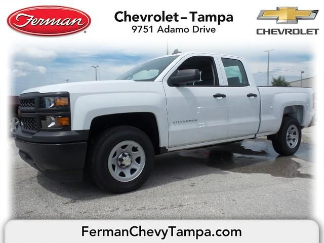 2015 Chevrolet Silverado 1500 Work Truck Summit White Double