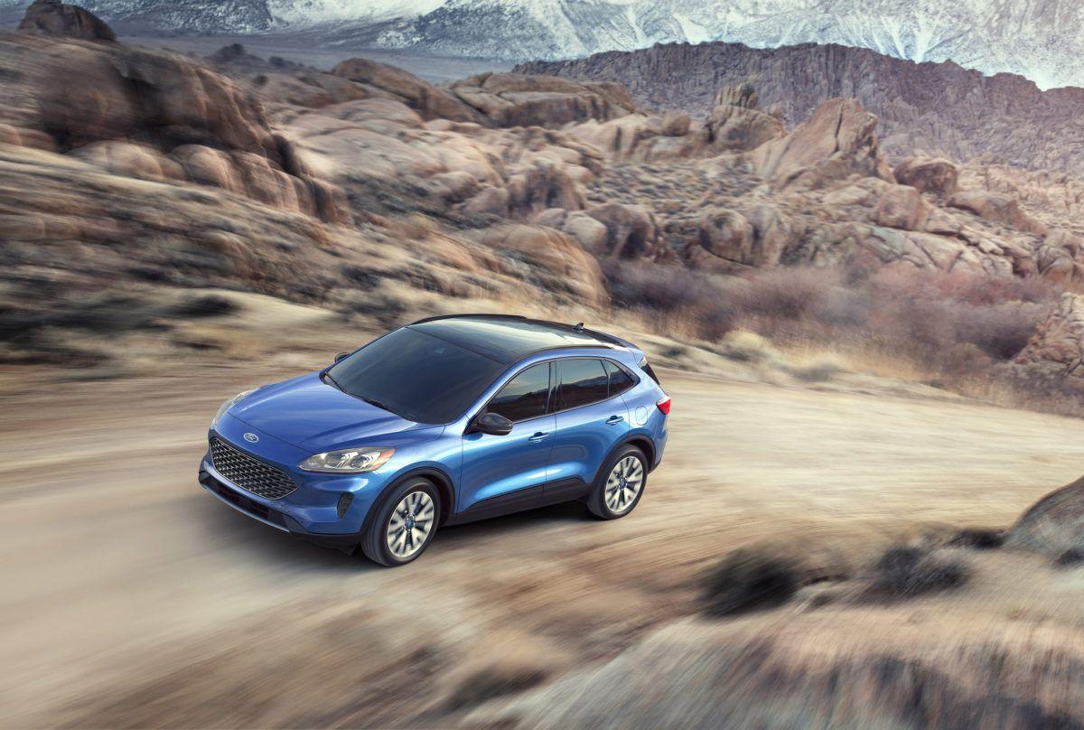 2020 Ford Escape Pure Electric Range Of 30 Miles Driveandride
