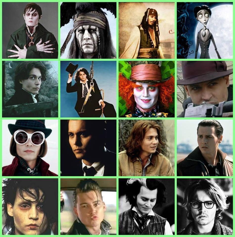 Johnny Depp Movies - Google Characters