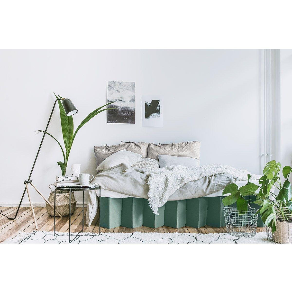 Bett 2.0 (salbei) ROOM IN A BOX selekkt Heim für