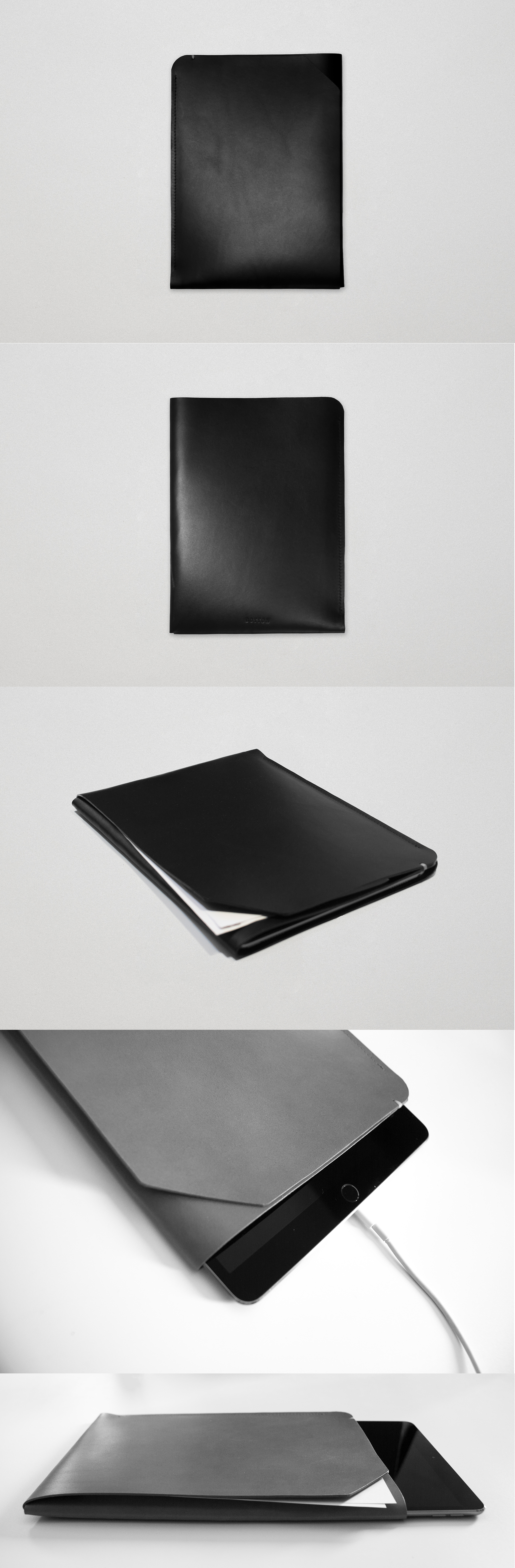 Main pocket for iPad and secondary front pocket for