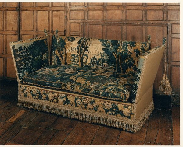 Superieur A Rare, Late 18/early 19th Century, Knole Settee Upholstered In 17th  Century, Verdure Tapestry : The British Antique Dealersu0027 Association