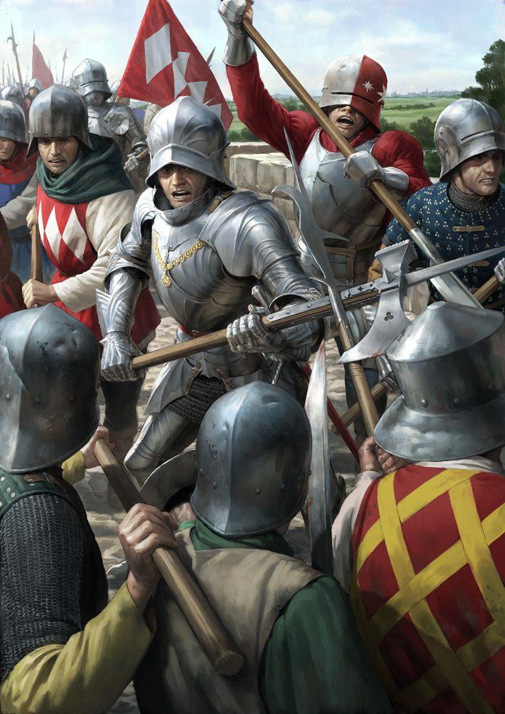 A batalha de Bosworth era a última batalha importante da Guerra das Duas Rosas que se alastraram por toda a Inglaterra na segunda metade do século 15.
