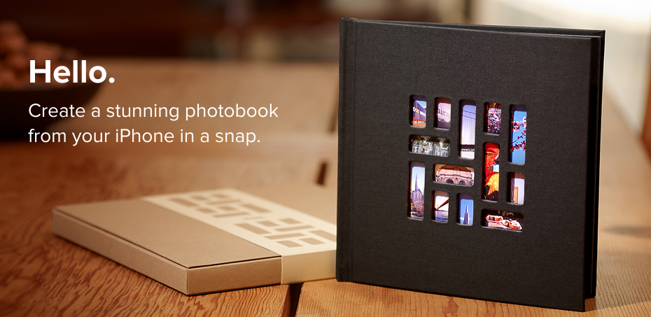 Mosaic photo book! Create a 20 page photo book directly