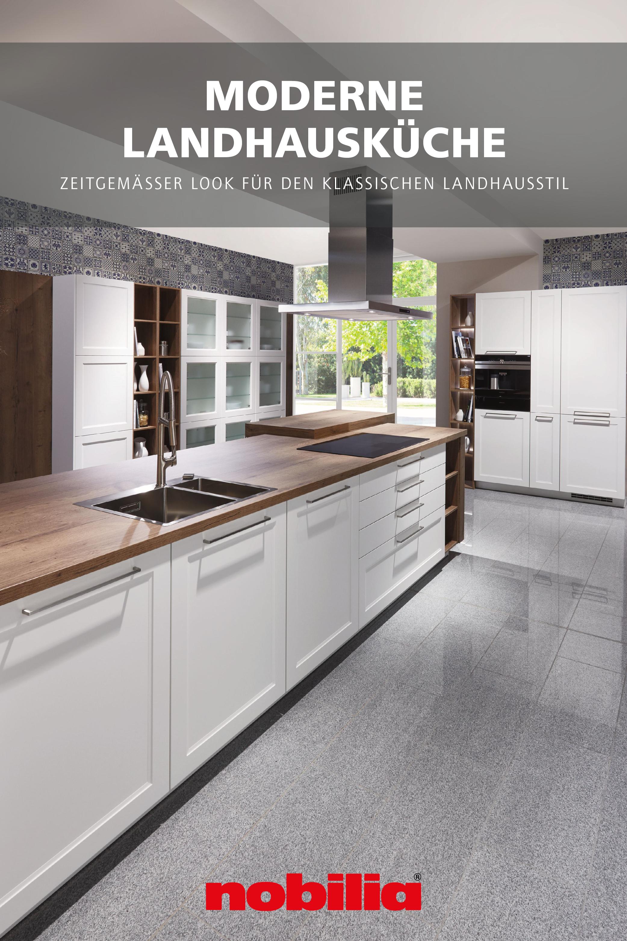Moderne Landhauskuche Von Nobilia In 2020 Kuche Landhaus Modern Landhauskuche Haus Kuchen