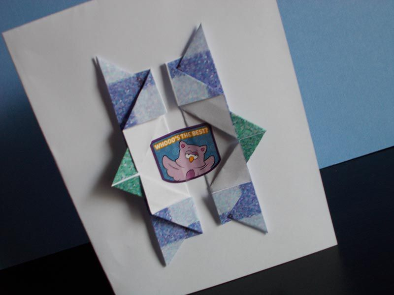 How To Make An Origami Birthday Card Envelopes Letter Folds