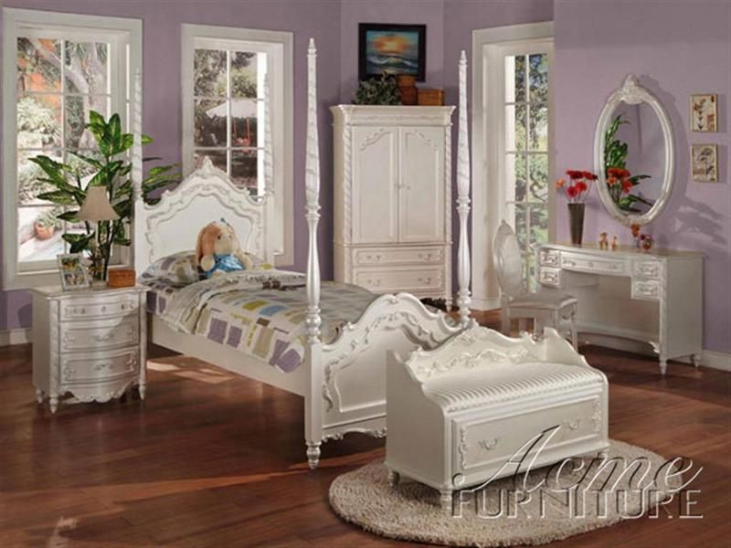 twin size bedroom furniture. Pearl White Finish Twin Size Post Bedroom Set Item  01000T This goes