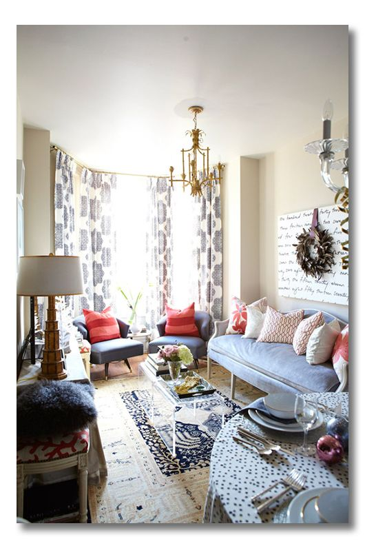 Pin On Our First Apartment #small #space #living #room #decor