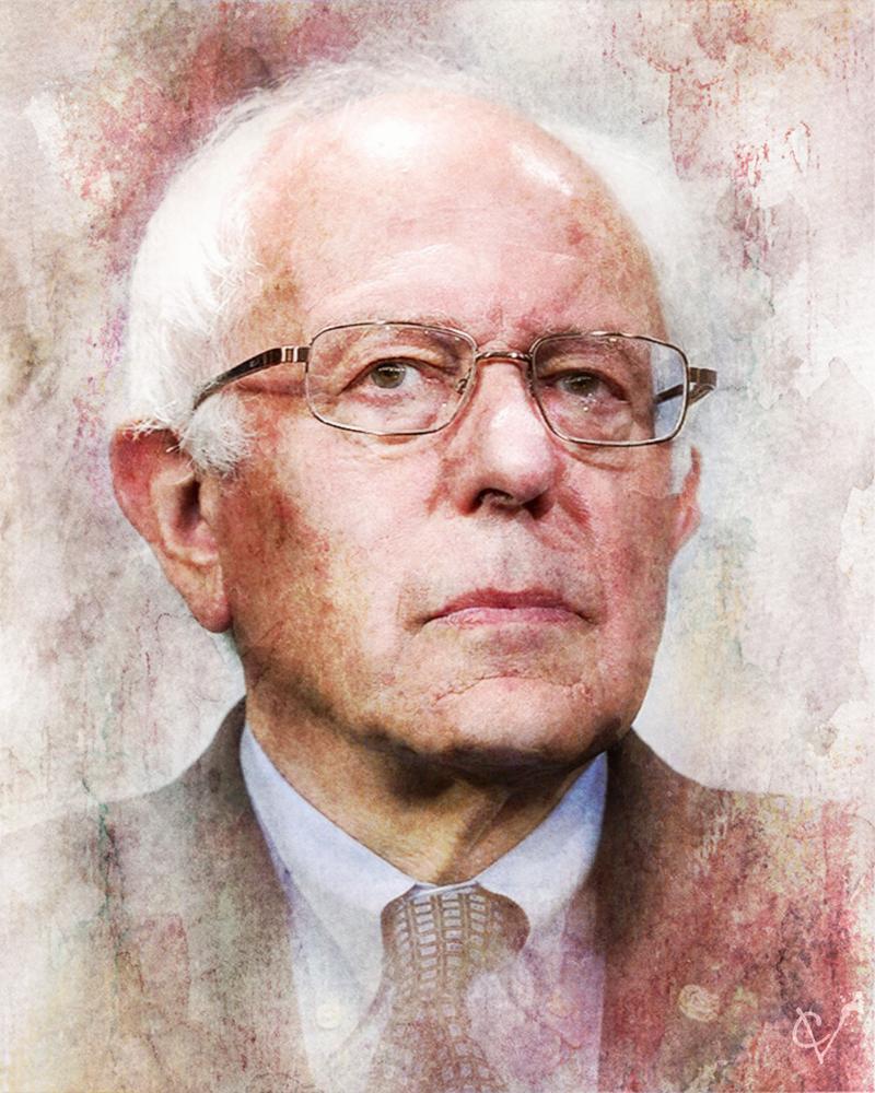 Senator Bernie Sanders By Crimsonvermillion On Deviantart Sen Bernie Sanders Bernie Sanders Sanders