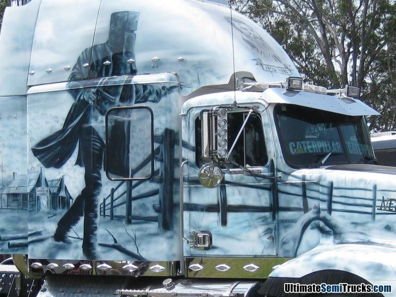 Ned Kelly Western Star Western star trucks, Big rig