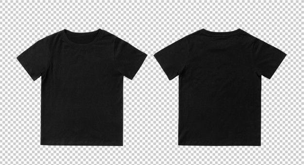 Download Blank Black Kids T Shirt Mock Up Template T Shirt Design Template Shirt Designs Blank T Shirts