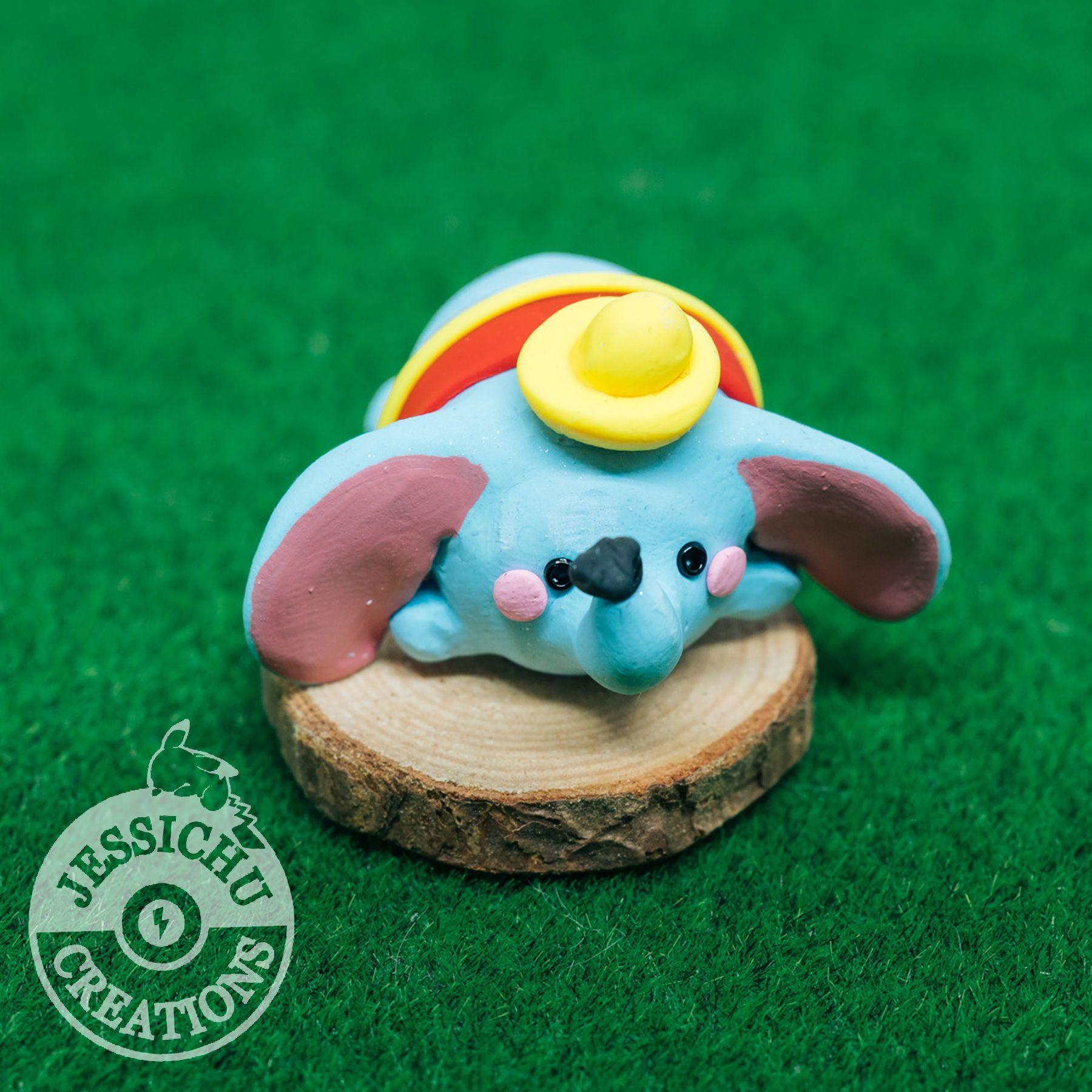 Miniature Dumbo | Jessichu Creations #TsumtsumDumbo #Dumbo ...