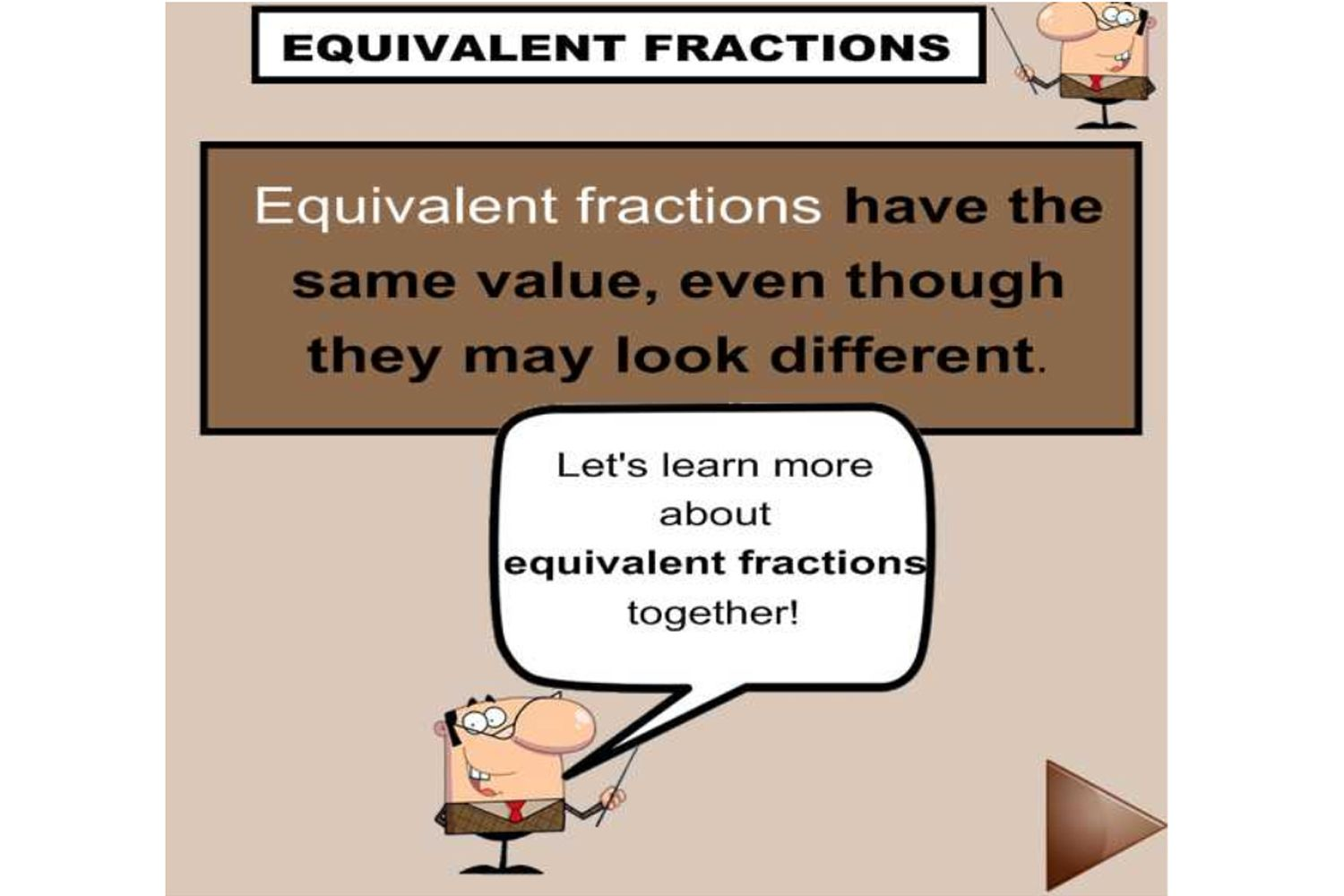 Help Your Students To Understand Equivalent Fractions With