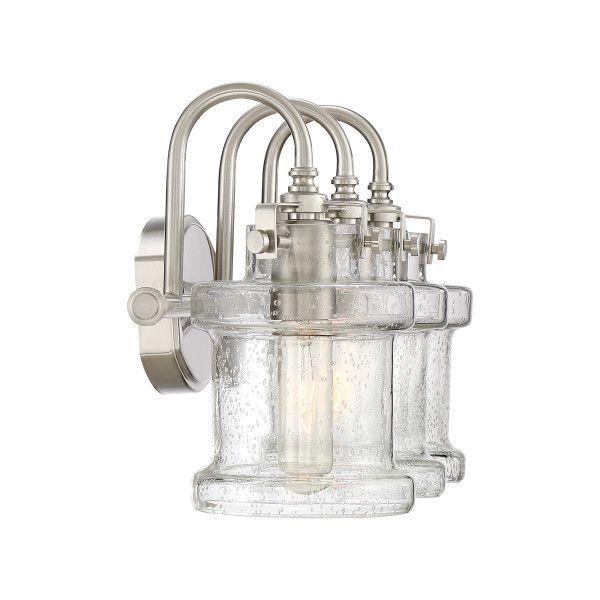 Danbury Bath Light | Vanity lighting, Quoizel, Bathroom ...
