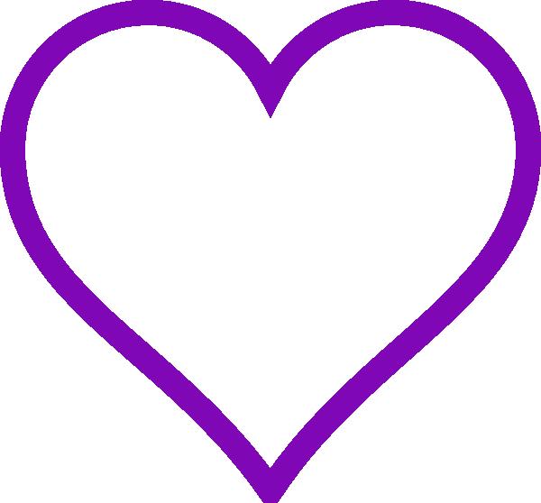 Pretty Hearts Purple 3d Love Heart With Transparent Background Valentine Clip Art Heart Clip Art Heart Outline Clip Art