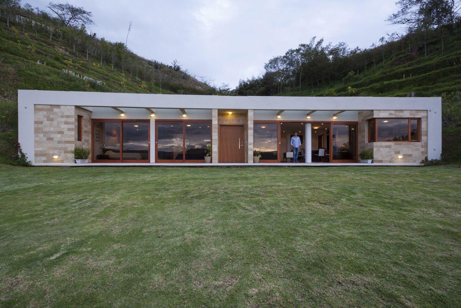 Casa moderna de un piso de 140 metros cuadrados dise o de for Casa moderna 140 m2