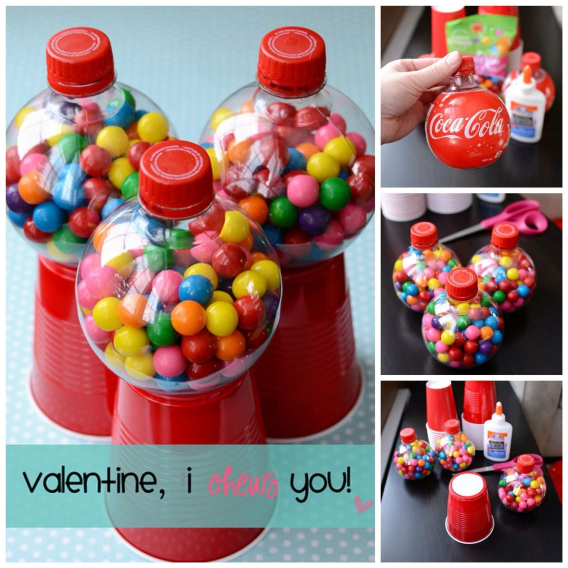 Diy gum ball machines