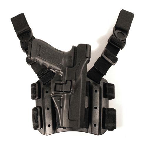 TAC SERPA Holster Level 3,Glock17-19-22-23-31-32,Black
