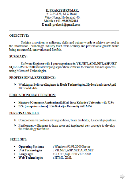 Curriculum Vitae Moderno Free Download Sample Template Excellent
