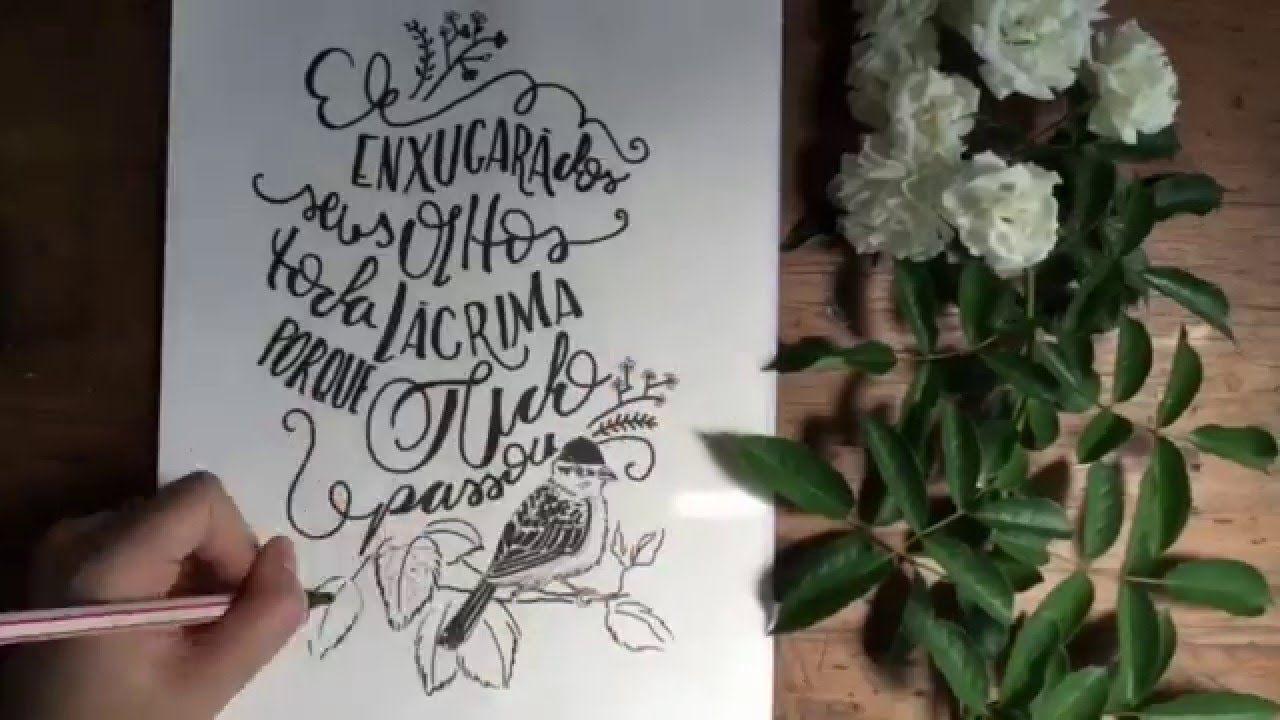 O fim da morte u caligrafia saracampos lettering pinterest