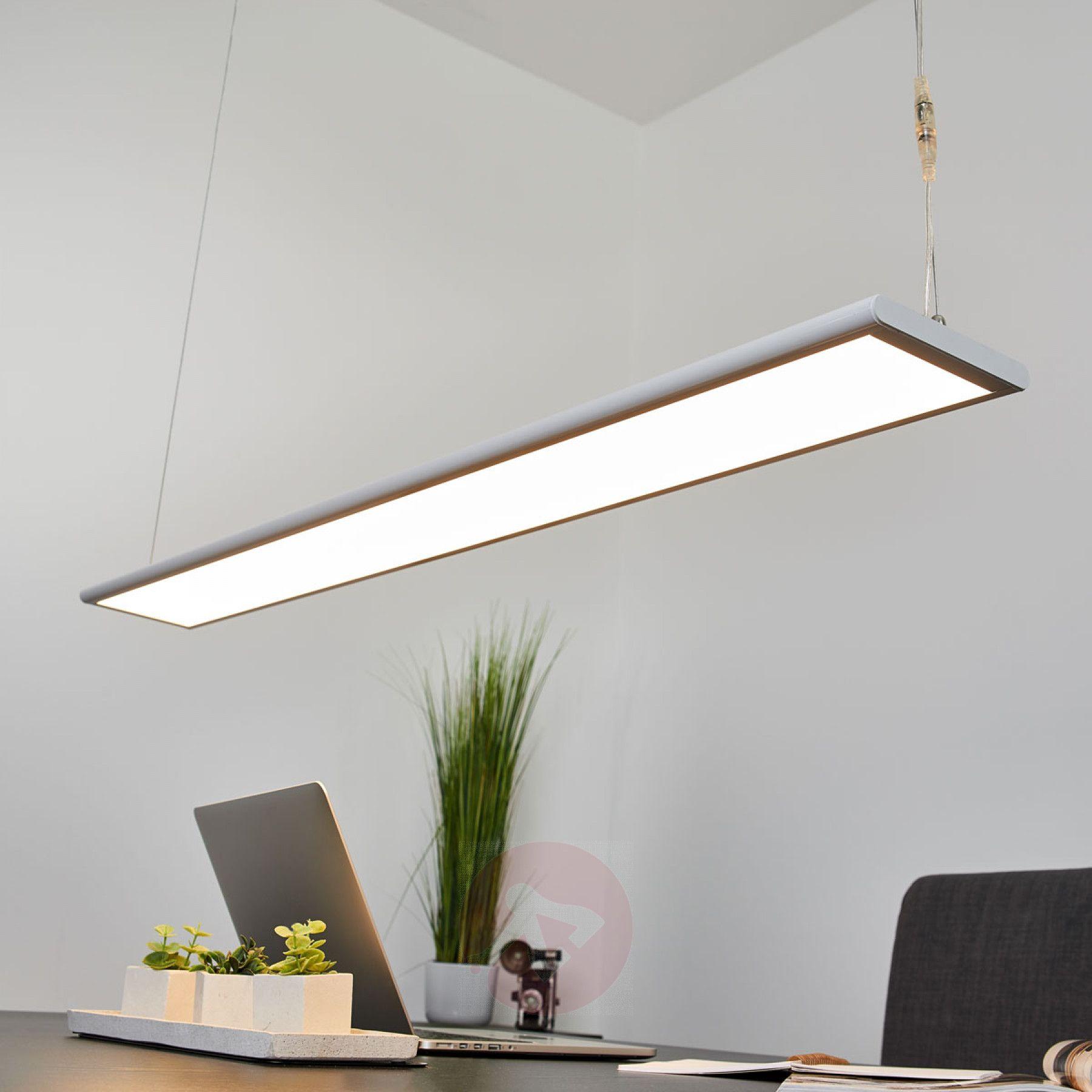 Dimmbare Led Buro Hangeleuchte Samu 40 5 W Kaufen Lampenwelt De Hangeleuchte Buro Deckenleuchte Beleuchtung
