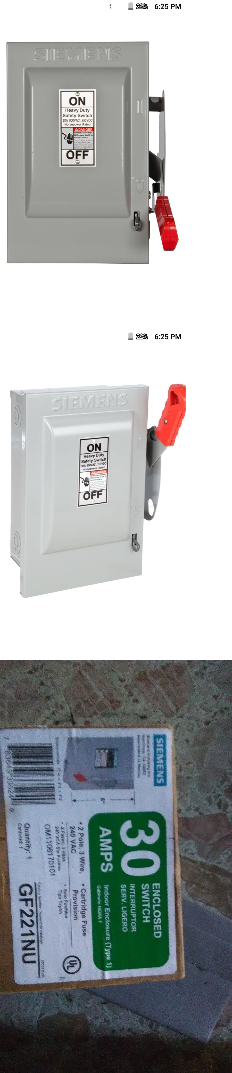small resolution of circuit breakers and fuse boxes 20596 siemens 30 amp 2 pole 3 wire circuit breaker