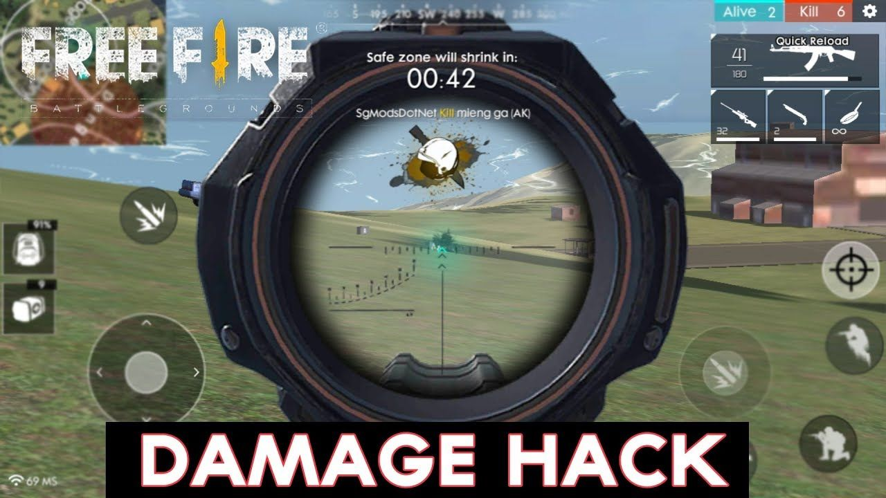 Free Fire 1147 Mod Apk No Root Damage Hack Grass Removed More
