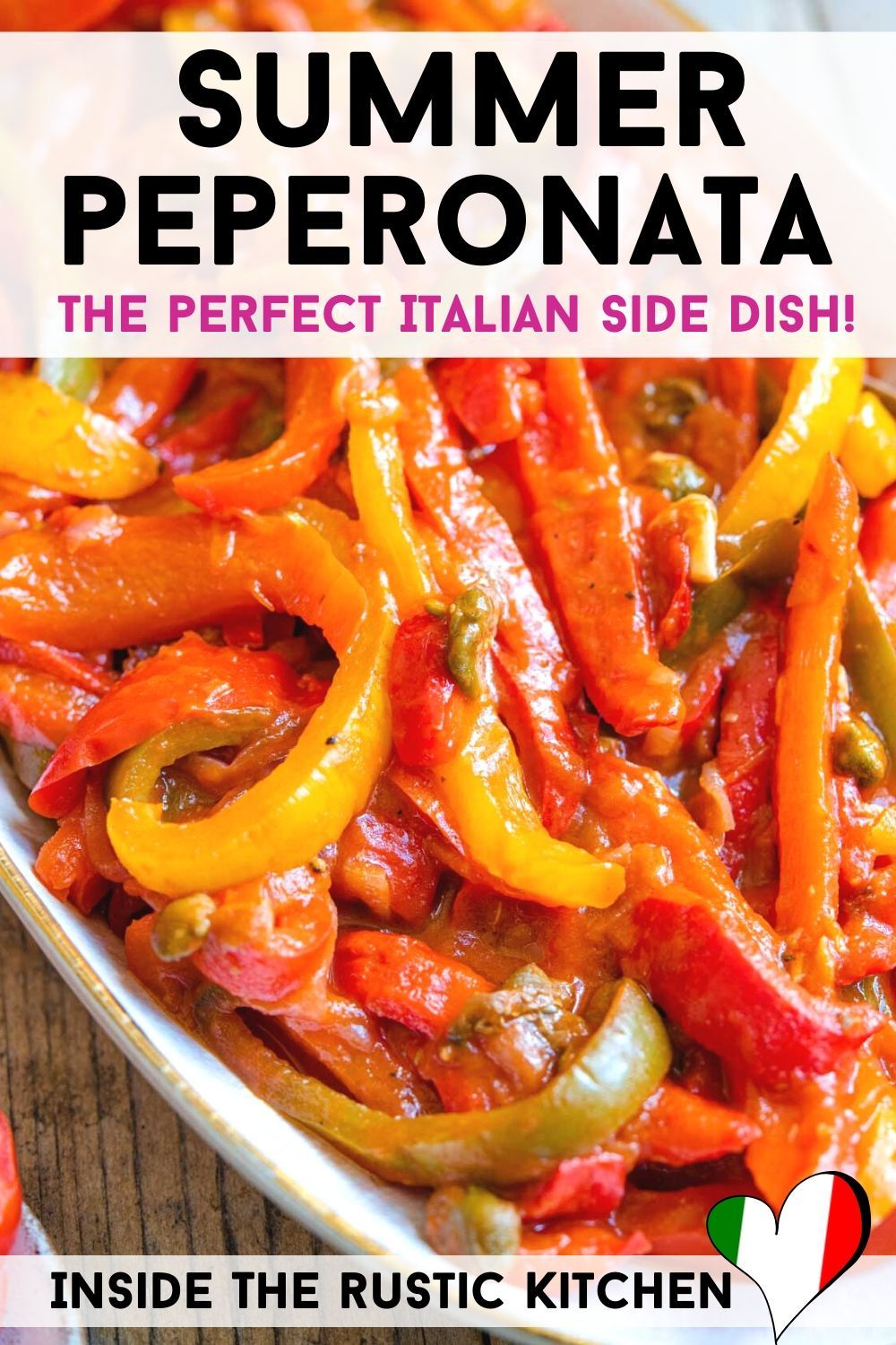 Photo of Summer Peperonata – Perfect Italian Side Dish