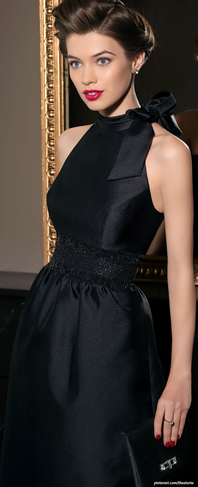 Elegance Fashion Chik Pinterest Robe Robe Noire And Haute Couture