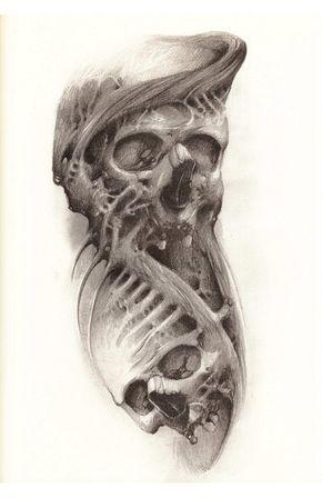 Tatuirovka Tatu Knigi Video Tattoo Books Video Vk Biomechanical Tattoo Design Tattoos Biomechanical Tattoo