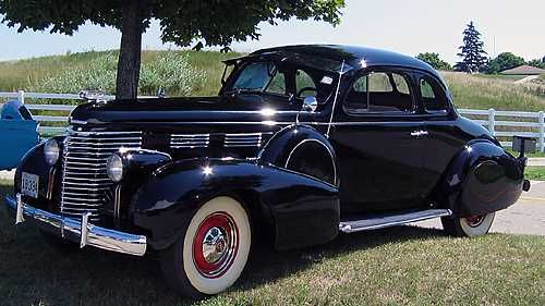 1938 Cadillac Series 60 Opera Coupe (500×281) | Cadillac - Lasalle