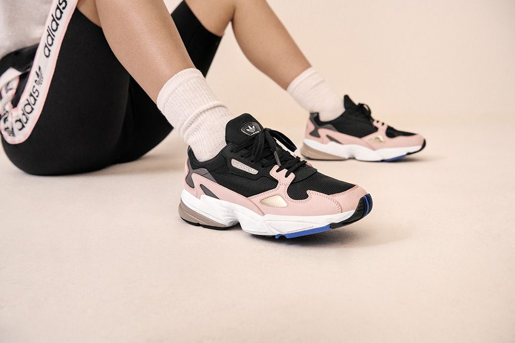 new product 01a30 7e8f0 ADIDAS FALCON SHOES. ADIDAS FALCON SHOES Chaussure, Kylie Jenner Instagram,  Meilleures Baskets ...