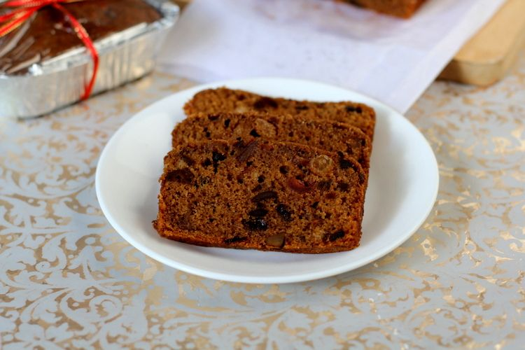 Eggless Fruit Cake Recipe Biscuits And Cake Recipes Pinterest
