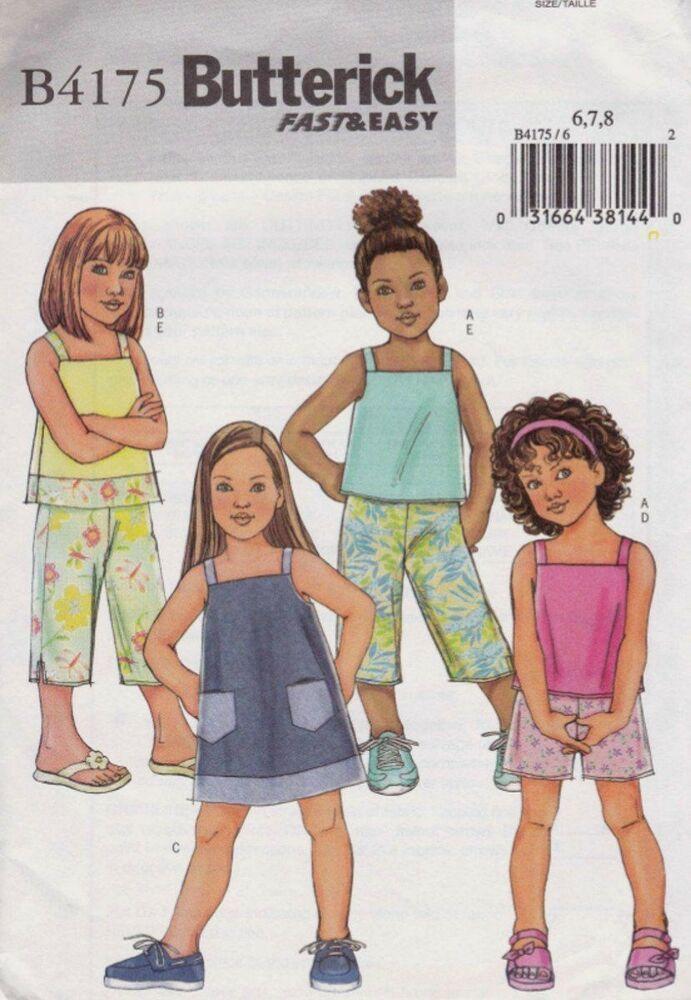 Evening Top Pant Jacket Pattern 6-10 Butterick 3916 OOP