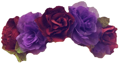 Overlays Transparent Tumblr Flowers Buscar Con Google Flower Crown Flower Hair Accessories Floral Headpiece