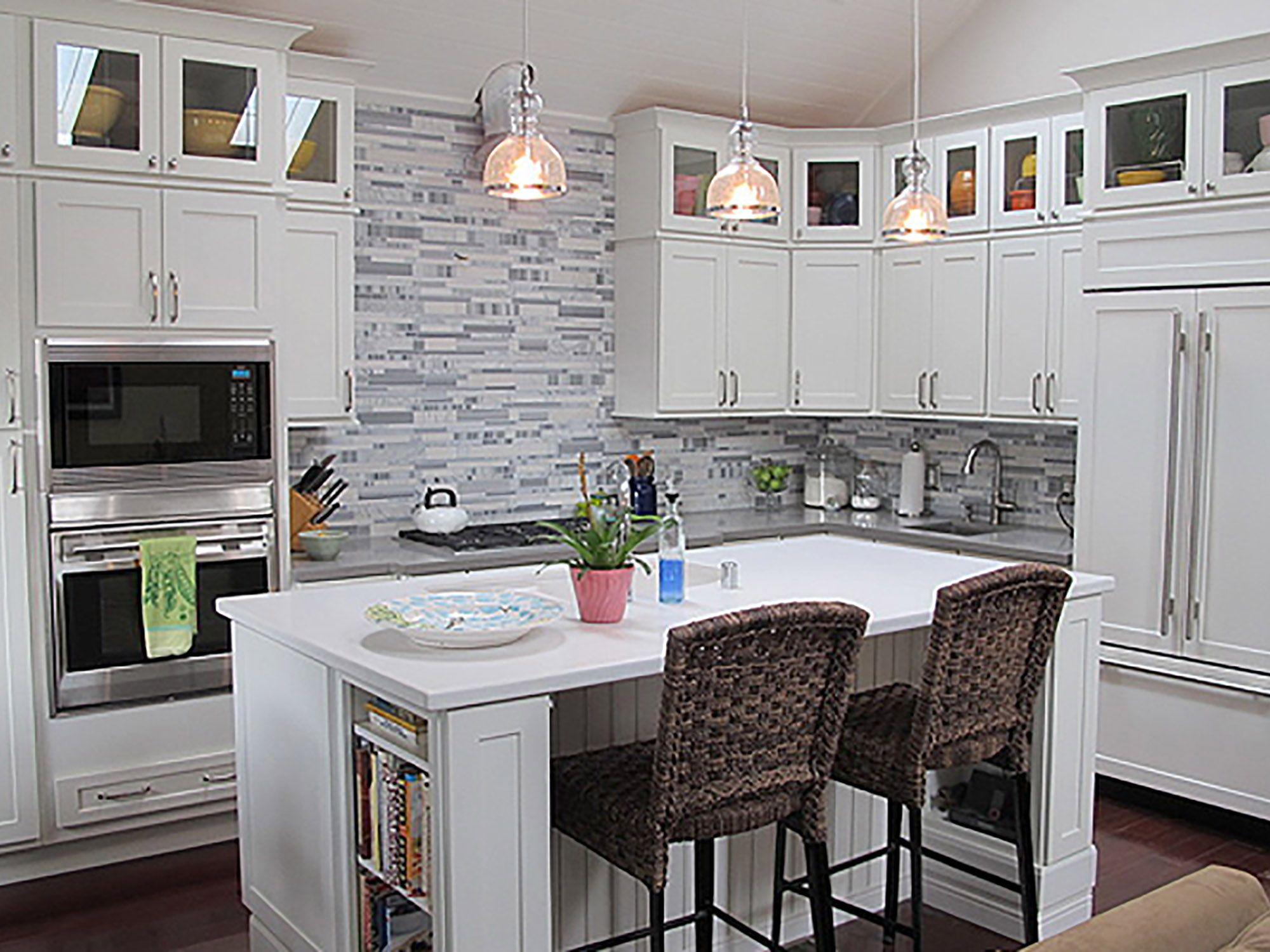 San Francisco Kitchen Renovation Features Cliqstudios Dayton Gorgeous Basic Kitchen Cabinets Review