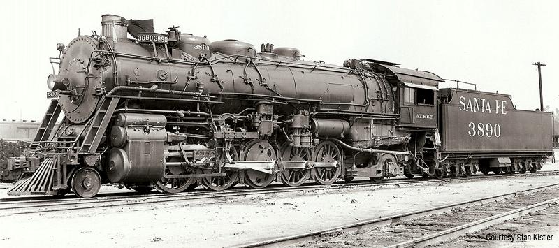 santa fe 3800 class 2-10-2 | Steam locomotive, Train, Model trains