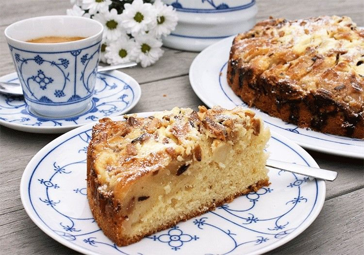 Apfel Rahm Kuchen Rezept Rezepte Pinterest Kuchen Dessert