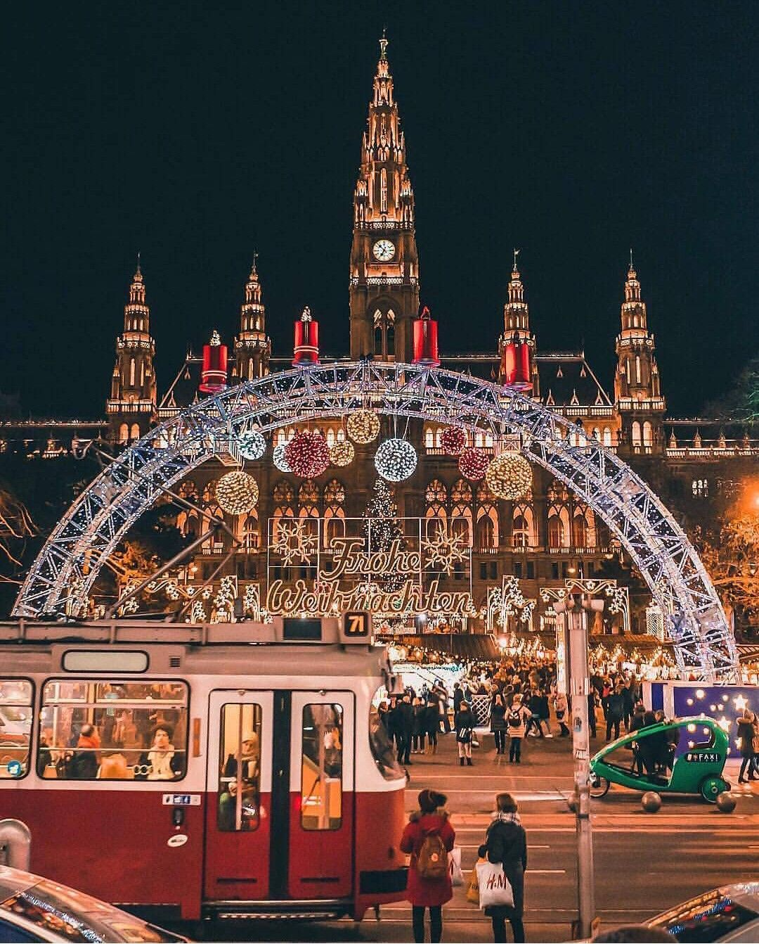 Christmas In Austria 2019.Vienna Austria At Christmas Places In 2019 Vienna
