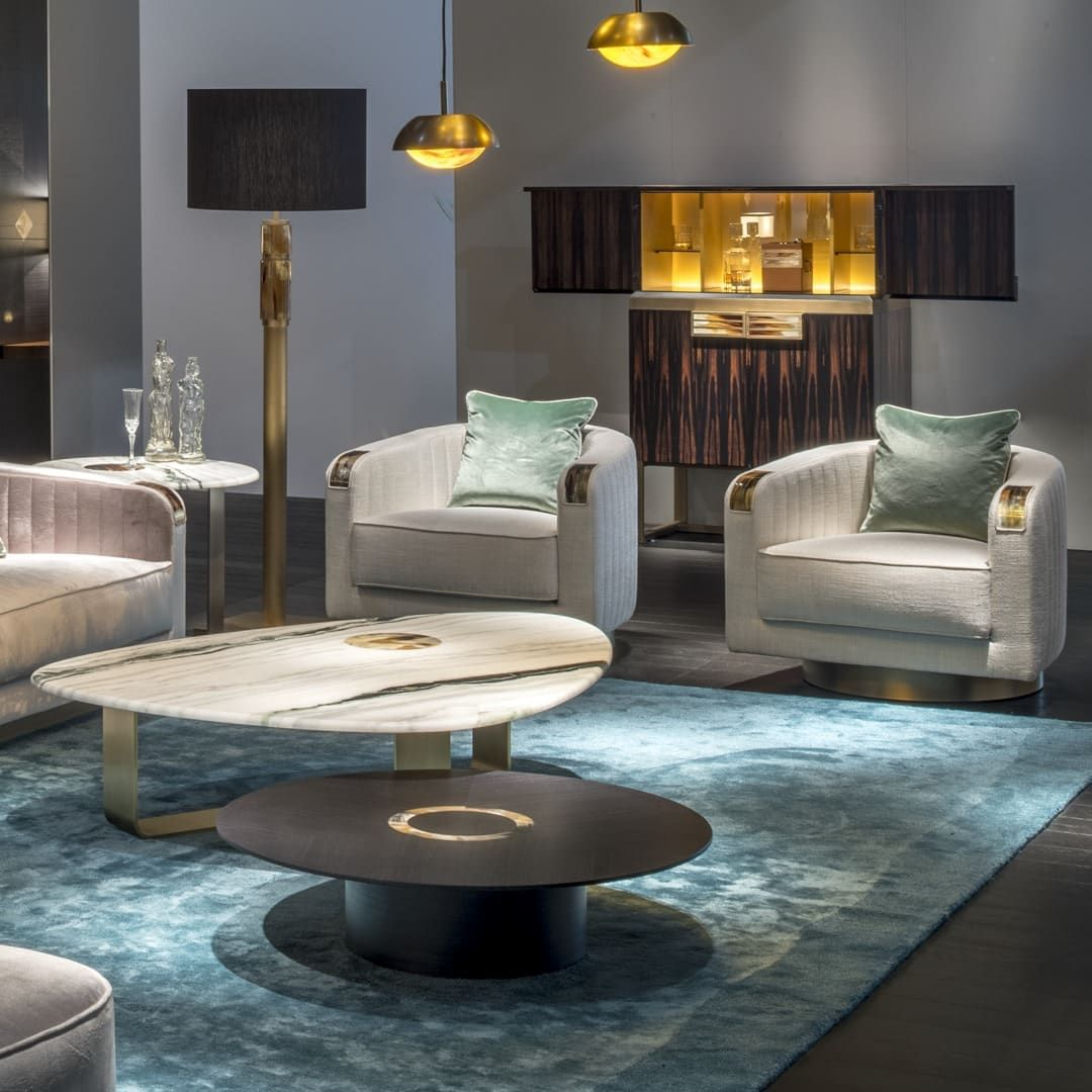 Arcahorn Sinuous Shapes And Prized Materials Blen Contemporary Designers Furniture Da Vinci Lifestyle In 2020 Contemporary Furniture Design Furniture Design Highend Furniture