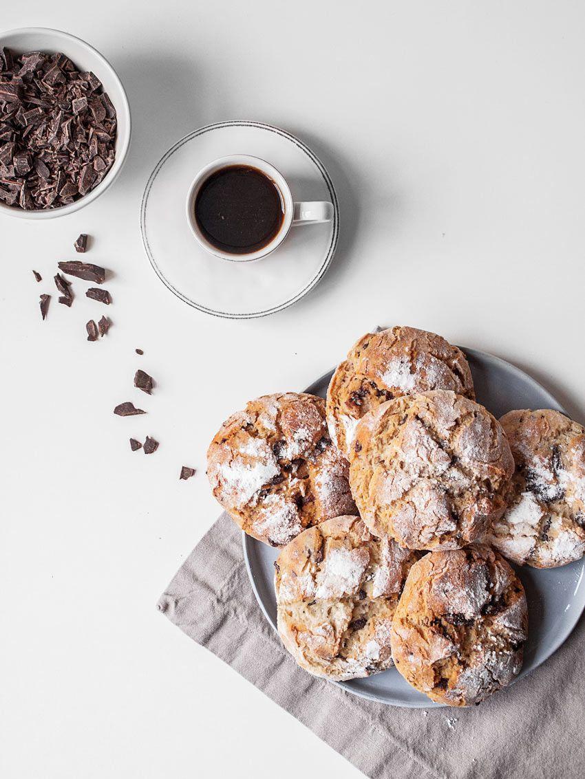 Glutenfree chocolate buns! Leckere glutenfreie und fructosearme Schokobrötchen ohne Laktose und Zucker | freiknuspern - Rezepte für Allergiker!