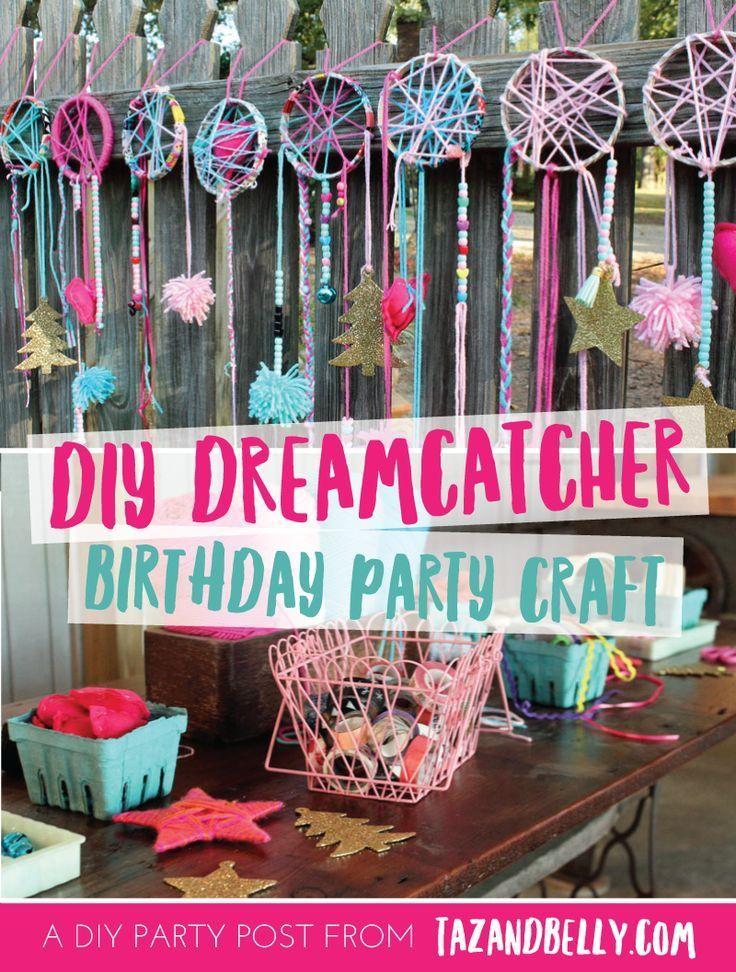 Weniger als eine Woche vor der Geburtstagsfeier von Ella sagte sie mir, dass sie … - Diyideasdecoration.club #dreamcatchers