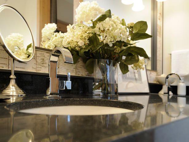 Pictures In Gallery bathroom vanity top decorating ideas