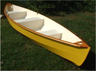 plywood canoes | Lynnhaven 16 stitch & glue plywood canoe plans