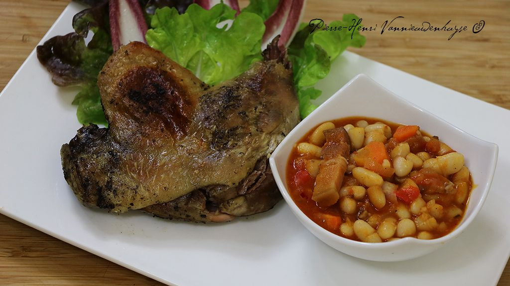 Cuisse de canard en confit sous vide volaille la plancha steak et meat - Plat cuisine sous vide ...