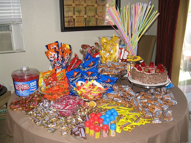 Candy Buffet Candy Party Mexican Candy Table Candy Buffet Tables