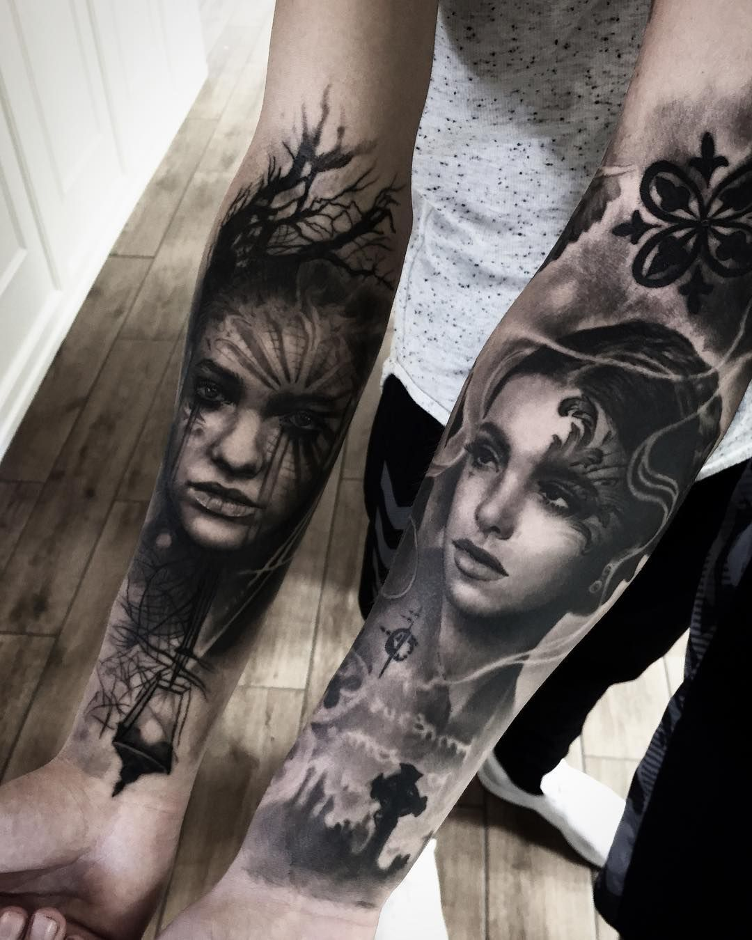 Catalogo Tattoo 2017 mark wosgerau instagram | tattoo ideen, ganzarm-tattoos