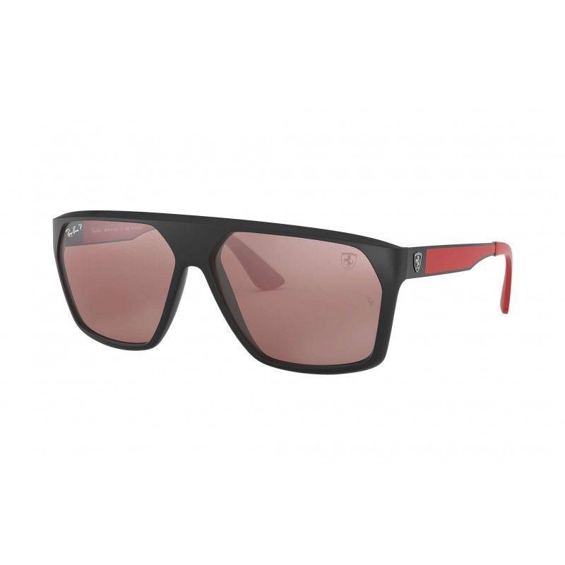 dc7ceda0b74ae Gafas de sol RAY BAN Ferrari 4309M Negro - Plata Mirror Chromance ...