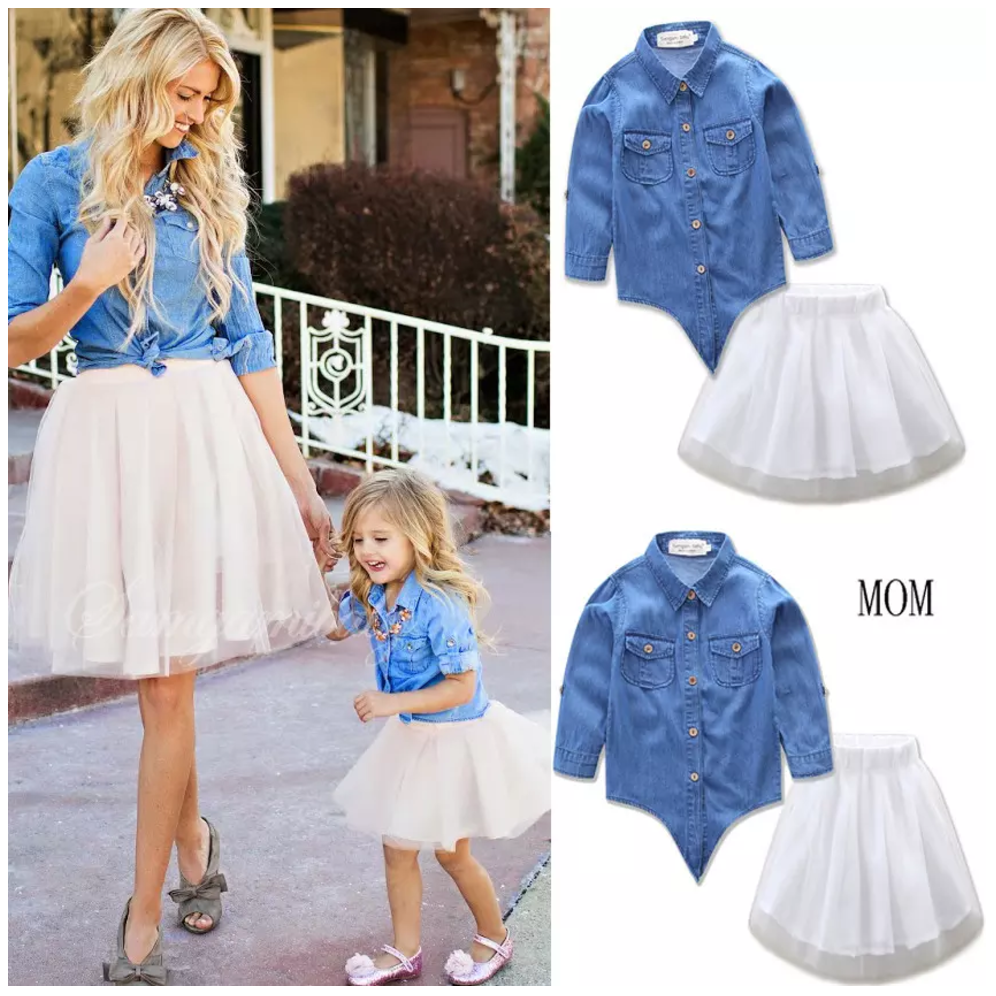 b5c270ab504b Mommy Dolly 2 Piece | Christmas Wear | Mother daughter outfits ...