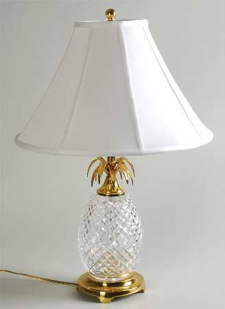 Waterford crystal pineapple lamp home pinterest pineapple waterford crystal pineapple lamp mozeypictures Images
